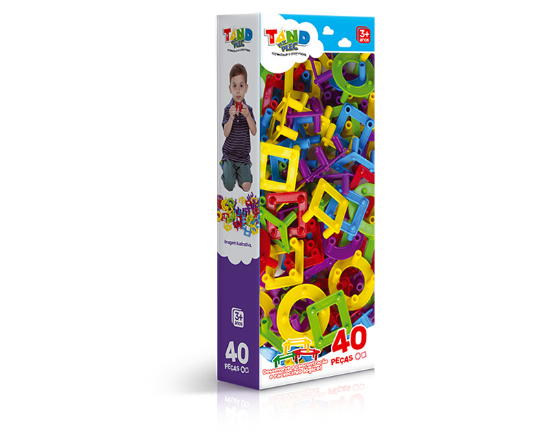 BLOCO TAND PLIC PLEC - 40 PEÇAS TAND