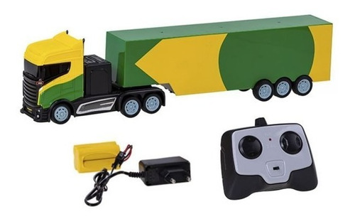 Caminhão Com Controle Truck Service Br - Cks