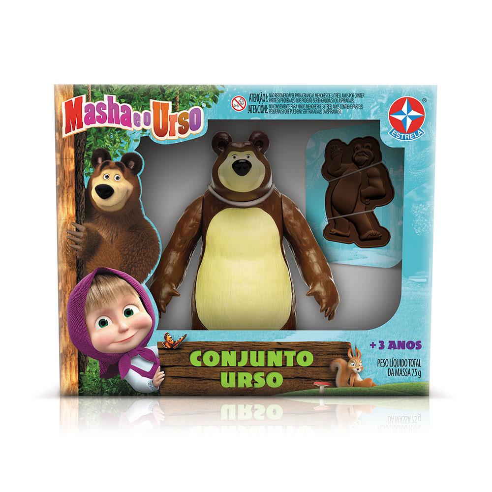 Conjunto Urso da Masha e o Urso - Estrela