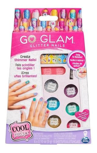 Go Glam Glitter Nails 2134 Sunny