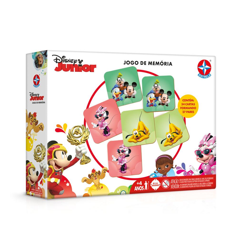 Jogo da Memória Disney Junior - Estrela