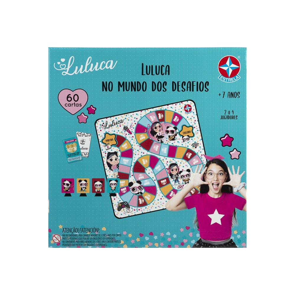 Jogo Luluca - No Mundo Dos Desafios Estrela