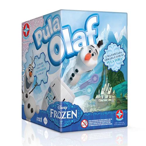 Jogo Pula Olaf Estrela