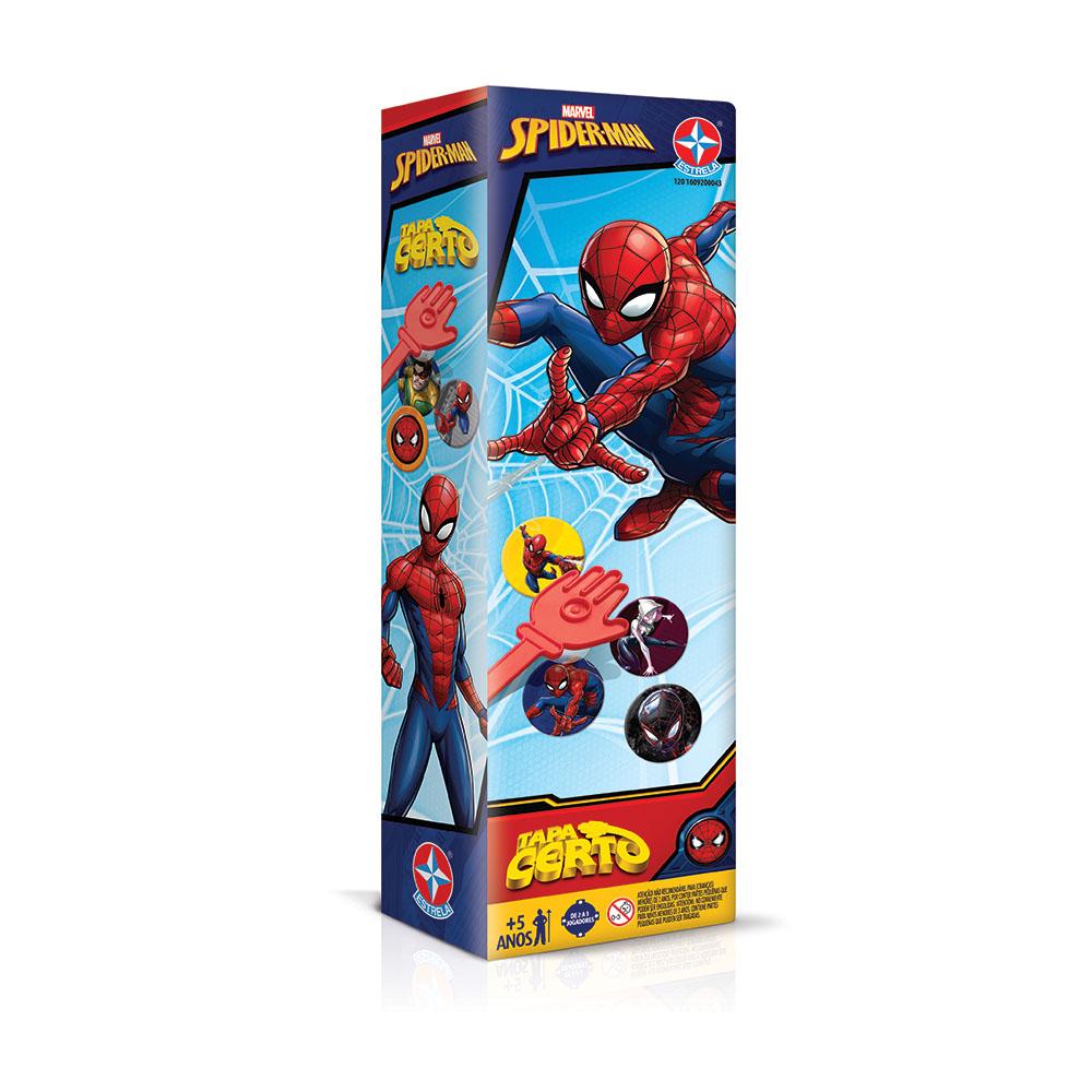 jogo Tapa Certo Spiderman Estrela