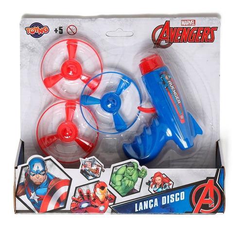 Lança Disco Vingadores Toyng 041348