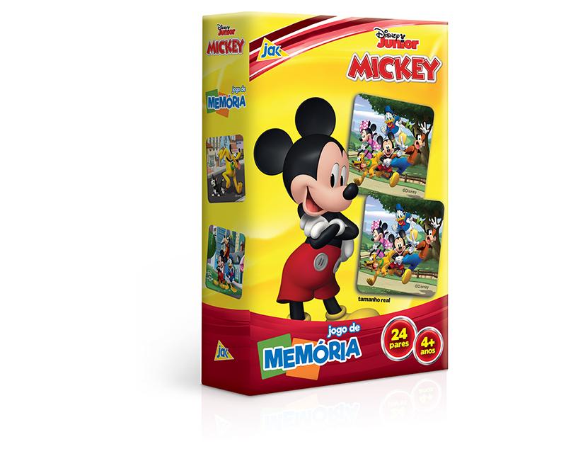 MICKEY- JOGO DE MEMÓRIA JAK