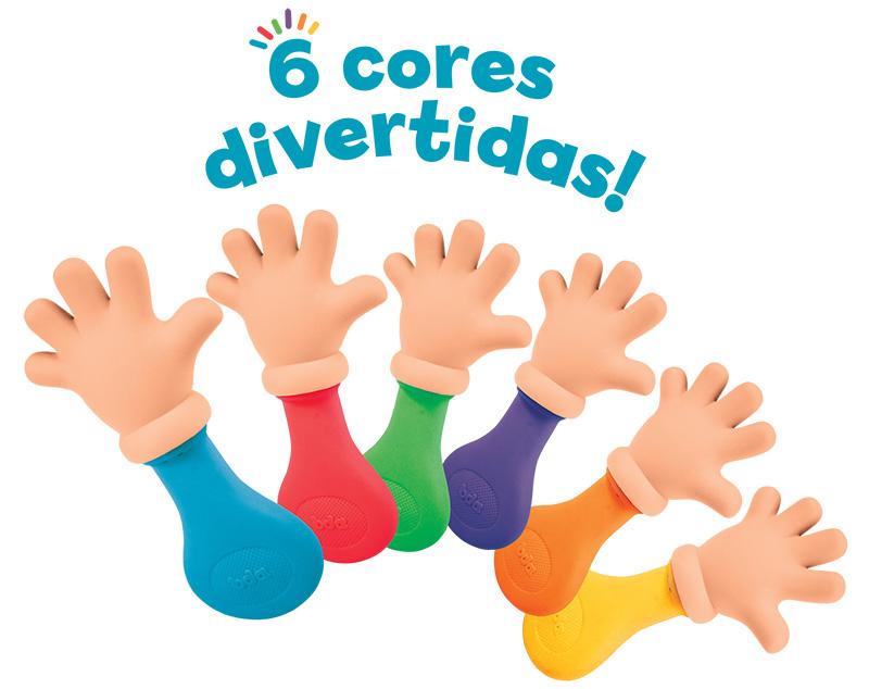 Mordedor Mãozinha Colors BDA