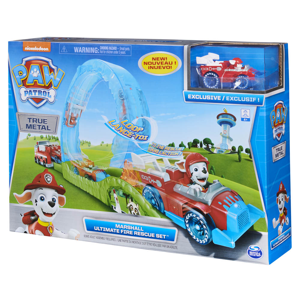 Patrulha Canina - Ultimate Fire Rescue Set Chase 1495