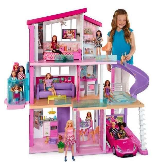 Playset Barbie - 125 Cm - Casa dos Sonhos com Elevador - Mattel
