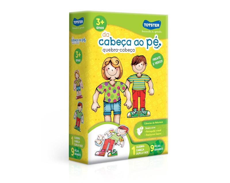 QUEBRA CABEÇA DA CABEÇA ATÉ O PÉ TOYSTER