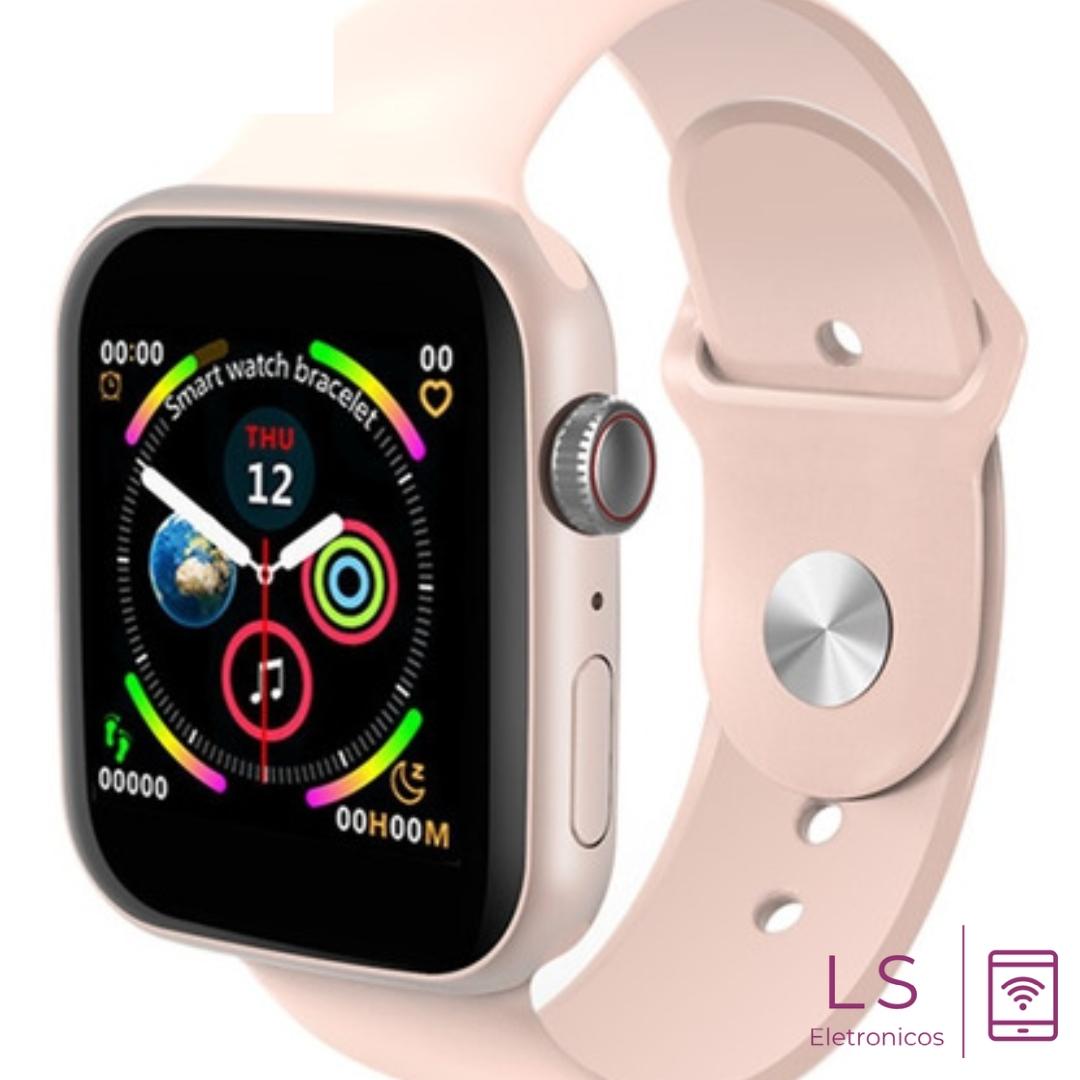 Relógio Smartwatch LD5 Rosa