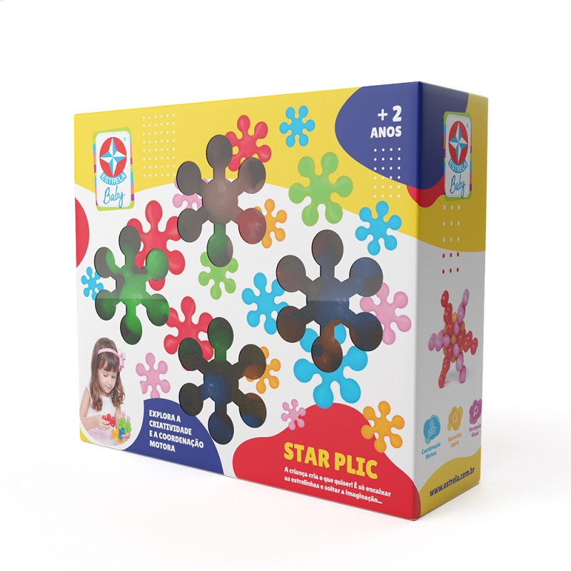 Star Plic Estrela Baby - Estrela