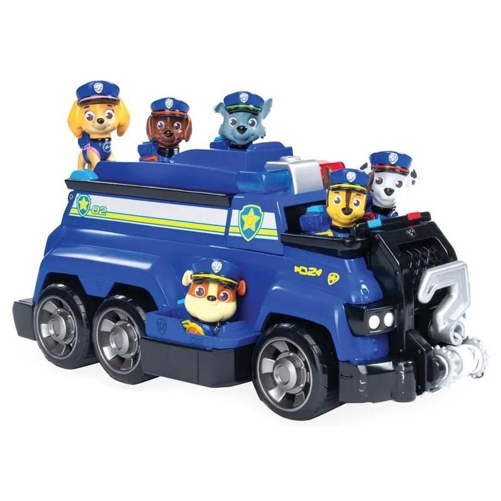Patrulha Canina - Veículo Equipe de Polícia Chase Com Figura - 1285 - Sunny