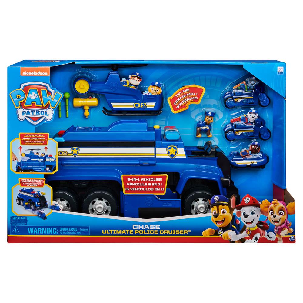 Veiculo Patrulha Canina - Ultimate Police Cruiser 5 em 1 Chase 1493 - Sunny