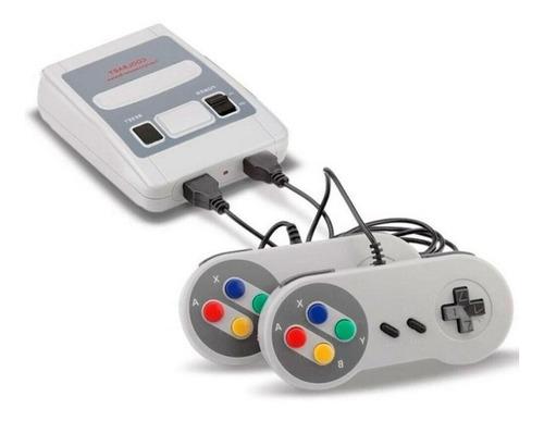 Videogame Retrô C/ 620 Jogos E Dois Controles Lps504 Luatek