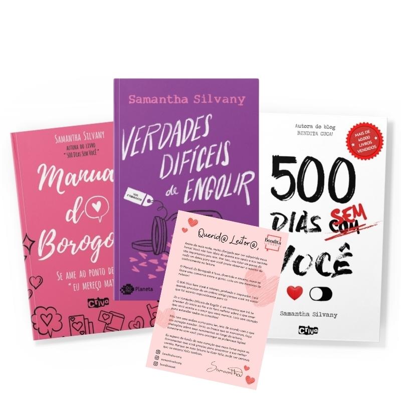 Combo Bendita Cuca + carta autografada! | 3 livros | Samantha Silvany
