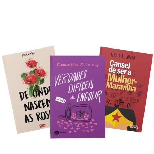 Louca por romance! | 3 livros