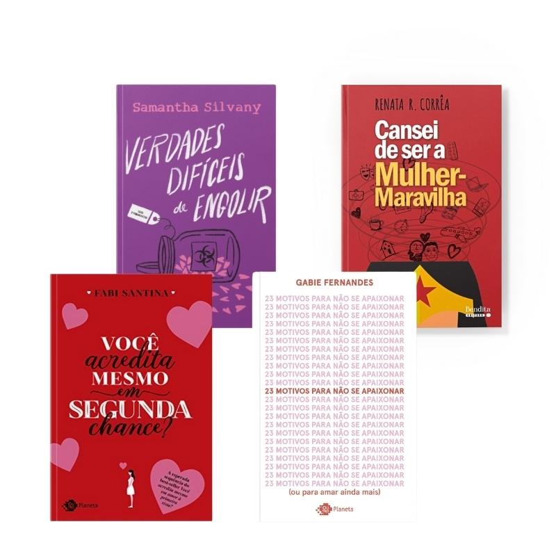 O amor sempre vence! | 4 livros incríveis