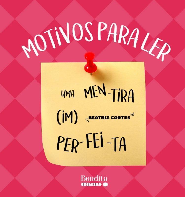 Uma Mentira Imperfeita + carta autografada! | Beatriz Cortes