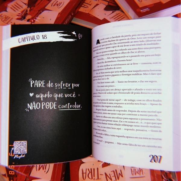 Uma Mentira Imperfeita + carta autografada!   Beatriz Cortes