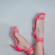 Sandália Pink Luiza Barcelos