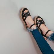 Sandália plataforma Luiza Barcelos