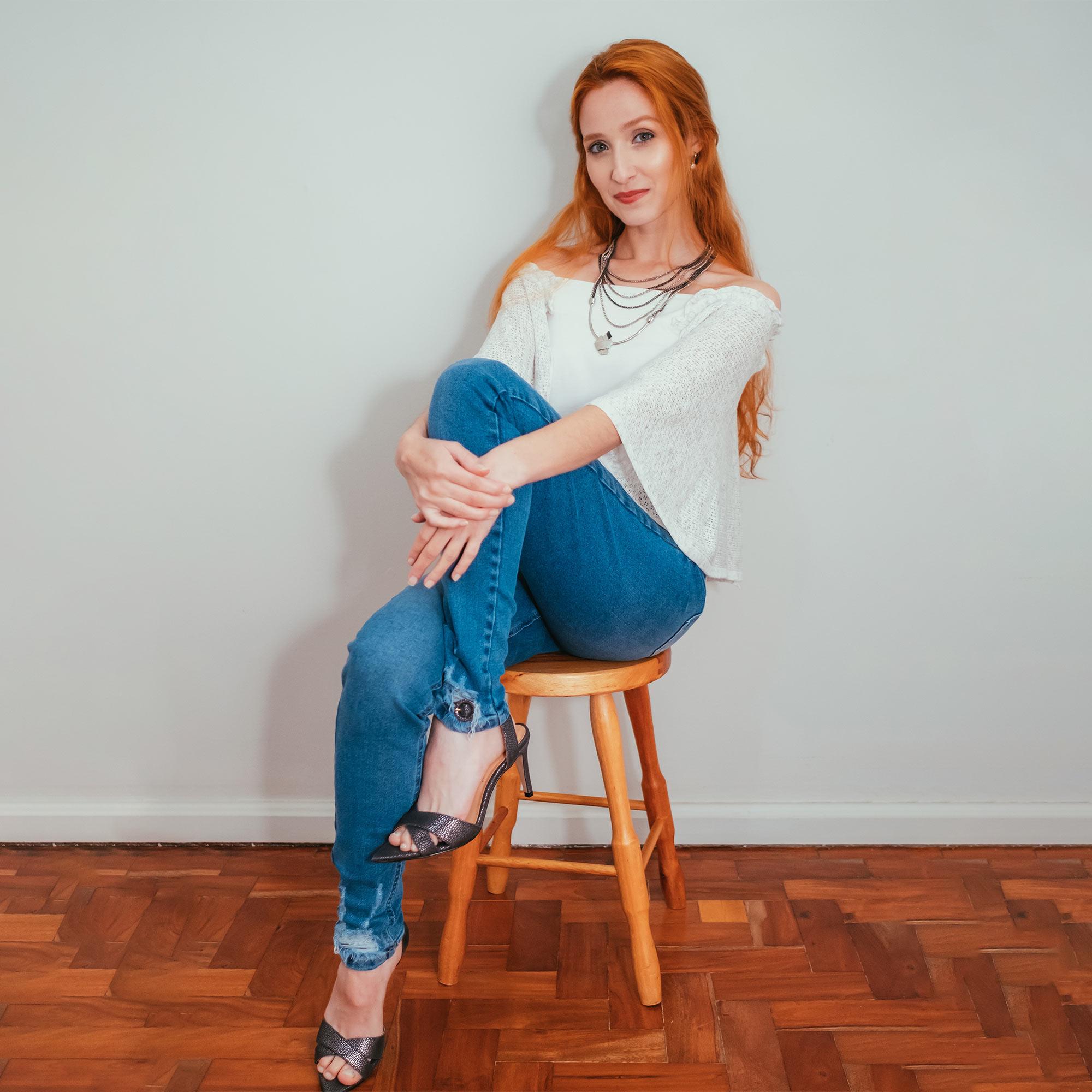 Calça Jeans Ziann