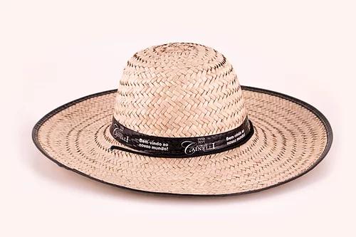 Chapéu de palha Personalizado Vinícola Cainelli