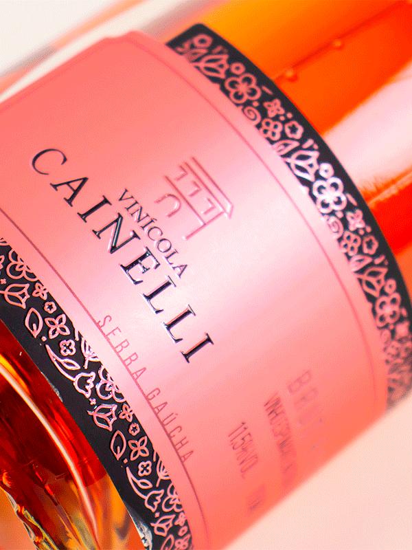 Espumante Vinícola Cainelli Brut Rosé