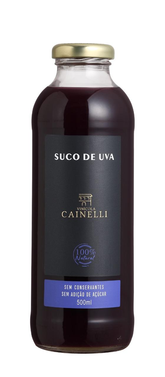 Suco de Uva Integral 500 ML Vinícola Cainelli
