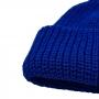 Gorro Canelado Curto Estilo Marinheiro Touca Modelo 2 - Azul Bic