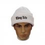 Gorro Canelado Thug Life Urban Streetwear Hip Hop Rap Trap Skate - Branco