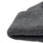 Gorro Curto 2 Camadas Marinheiro Touca Streetwear Hip Hop Rap - Cinza Escuro