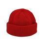 Gorro Curto 2 Camadas Marinheiro Touca Streetwear Hip Hop Rap - Vermelho