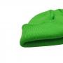 Gorro Curto Liso Docker Marinheiro Urban Streetwear Hip Hop Rap Skate - Verde Fluorescente