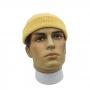Gorro Curto Marinheiro Touca De Lã Streetwear Hip Hop Rap - Amarelo Claro