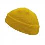 Gorro Curto Marinheiro Touca De Lã Streetwear Hip Hop Rap - Amarelo Escuro