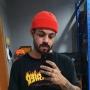 Gorro Curto Marinheiro Touca De Lã Streetwear Hip Hop Rap - Laranja Escuro