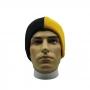 Gorro Half 2 Cores Beanie Moda Urban Streetwear Hip Hop Rap Skate - Preto e Amarelo