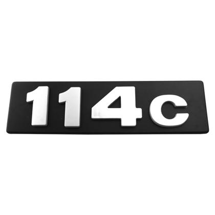 EMBLEMA 114C GRADE T-R 114