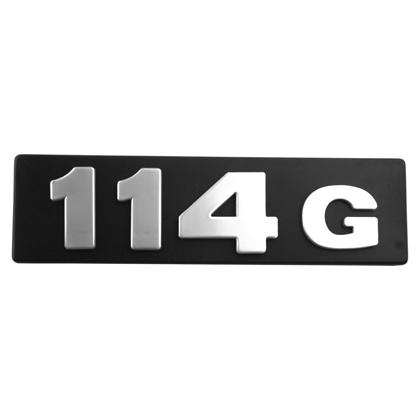 EMBLEMA 114G GRADE T-R 114