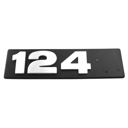 EMBLEMA 124 GRADE T-R 114