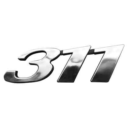 EMBLEMA 311 SPRINTER CROMADO
