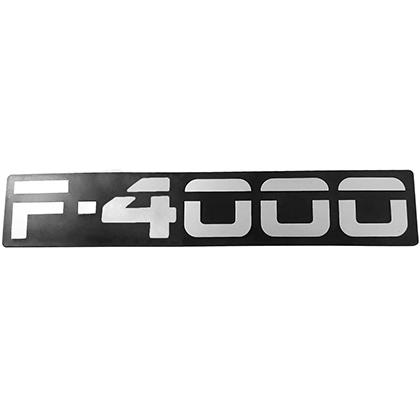 EMBLEMA F4000 93 ATE 98