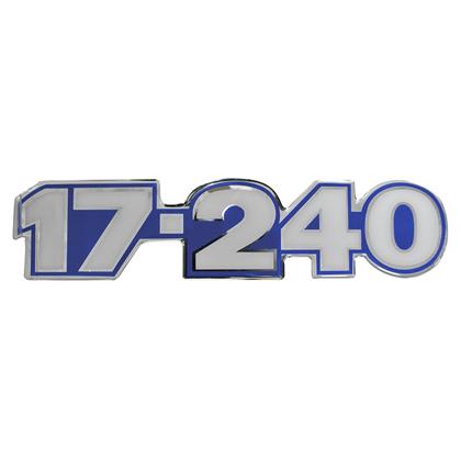 EMBLEMA FRONTAL AZUL 17.240OT
