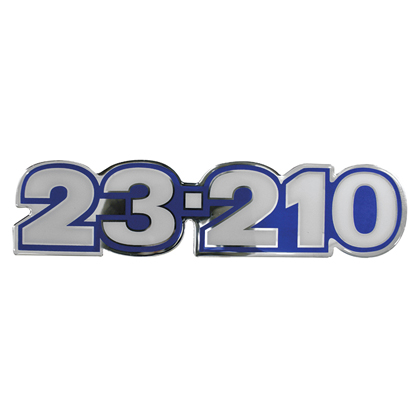 EMBLEMA FRONTAL AZUL 23.210