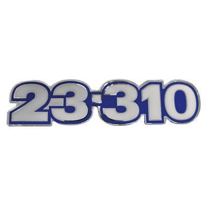 EMBLEMA FRONTAL AZUL 23.310