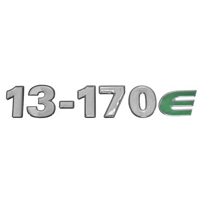 EMBLEMA FRONTAL CRISTAL 13170E
