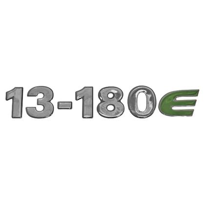 EMBLEMA FRONTAL CRISTAL 13180E