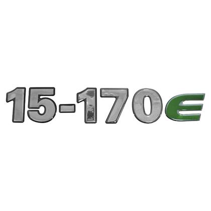 EMBLEMA FRONTAL CRISTAL 15170E